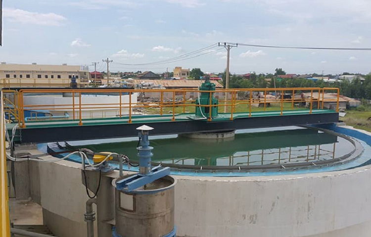 Waste Water Treatment Plant phnom penh cambodia 2020